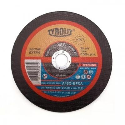 Disco Corte Reforzado  178x1,6